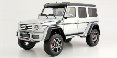 ALMOST REAL 1/18scale Mercedes Benz G500 4 x 4 ² (Silver)  [No.AL820204]