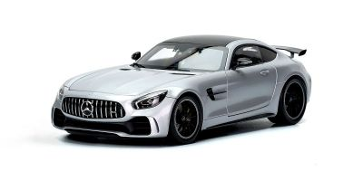 ALMOST REAL 1/18scale MERCEDES-AMG GT R – 2017 – SILVER  [No.AL820702]