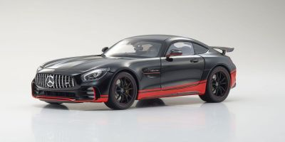 ALMOST REAL 1/18scale MERCEDES-AMG GT R – 2017 – BLACK W/RED STRIPE  [No.AL820703]
