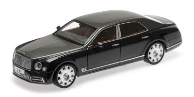 ALMOST REAL 1/18scale BENTLEY MULSANNE SPEED – 2017 – EMERALD (Green Two Tone)  [No.AL830501]