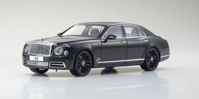 ALMOST REAL 1/18scale BENTLEY MULSANNE – W.O. EDITION BY MULLINER – CENTENARY LTD. EDITION 2018 Black  [No.AL830508]