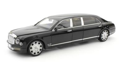 ALMOST REAL 1/18scale Bentley Mulsanne Grand Limousine by Mariner (Black)  [No.AL830602]