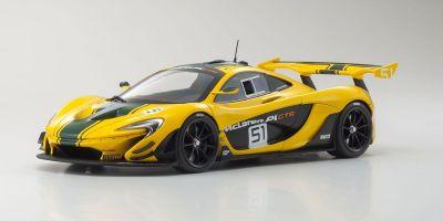 ALMOST REAL 1/18 マクラーレン P1 GTR ジュネーブ オートショー 2015 イエロー/グリーン AL840102
