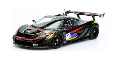 ALMOST REAL 1/18scale MCLAREN P1 GTR – James Hunt Edition (Black)  [No.AL840108]