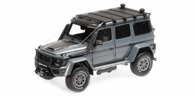 ALMOST REAL 1/18scale Brabus 550 Adventure Mercedes Benz G500 4x4² Metal Gray  [No.AL860304]