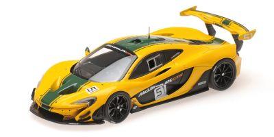 ALMOST REAL 1/43scale McLaren P1 GTR Geneva Motor Show 2015 (Yellow / Green)  [No.AL440102]