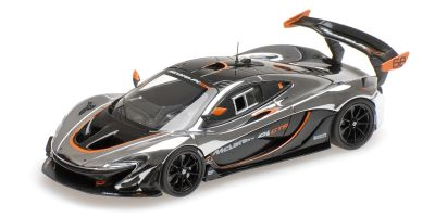 ALMOST REAL 1/43scale McLaren P1 GTR (chrome / black) with Gift box  [No.AL440105]