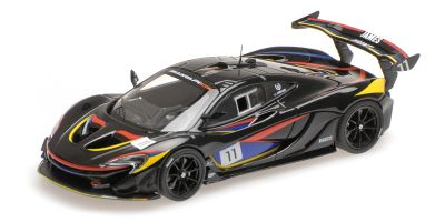 ALMOST REAL 1/43scale McLaren P1 GTR James Hunt Edition (Black) with Gift box  [No.AL440108]