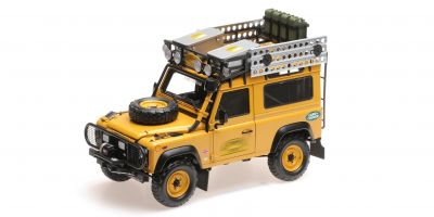 ALMOST REAL 1/18scale Land Rover Defender 90 Camel Trophy (Yellow)  [No.AL810211]