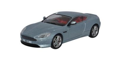 OXFORD 1/43scale Aston Martin DB9 Coupe Gray Silver [No.OXAMDB9001]