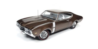 AMERICAN MUSCLE 1/18scale 1968 Oldsmobile Cutlass 442 Bronze  [No.AMM1084]