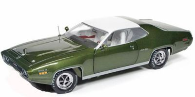 AMERICAN MUSCLE 1/18scale 1971 Plymouth Sattelite Sebring Plus Sherwood Forest Green  [No.AMM1092]