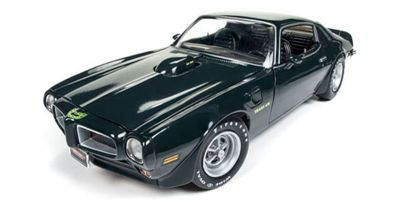 AMERICAN MUSCLE 1/18scale 1973 Pontiac Firebird Trans Am MCACN Blue Star Green  [No.AMM1109]