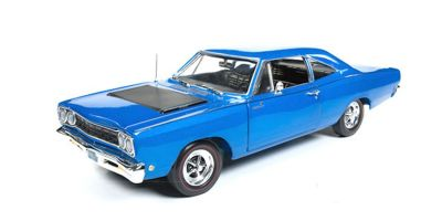 AMERICAN MUSCLE 1/18scale 1968 Plymouth Road Runner 50th Anniversary (Electric Blue)  [No.AMM1125]
