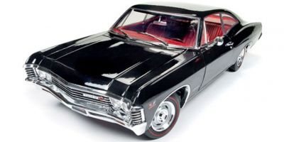 AMERICAN MUSCLE 1/18scale 1967 Chevy Impala SS MCACN (Tuxedo Black)  [No.AMM1129]