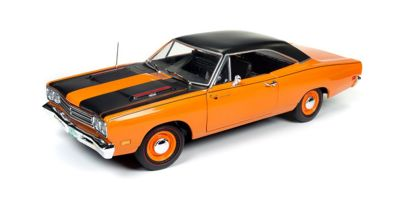 AMERICAN MUSCLE 1/18scale 1969 Plymouth Road Runner 50th Anniversary (Omaha Orange)  [No.AMM1131]