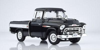 AMERICAN MUSCLE 1/18scale 1957 Chevrolet Camaro Pickup (100th Anniversary) Onyx Black  [No.AMM1145]