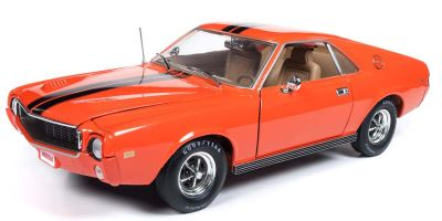 AMERICAN MUSCLE 1/18scale 1969 AMC AMX (Hemmings) Big Bad Orange  [No.AMM1170]
