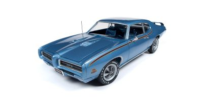 AMERICAN MUSCLE 1/18scale 1969 Pontiac GTO Judge (MCACN) Warwick Blue  [No.AMM1171]