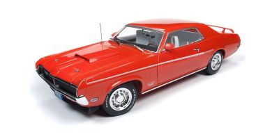 AMERICAN MUSCLE 1/18scale 1969 Mercury Cougar Hardtop (50th Anniversary of Boss Fords) Competition Orange  [No.AMM1183]
