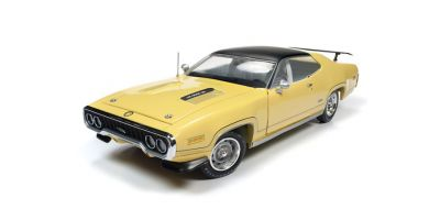 AMERICAN MUSCLE 1/18scale 1971 Plymouth GTX (MCACN) Lemon Twist Yellow  [No.AMM1186]
