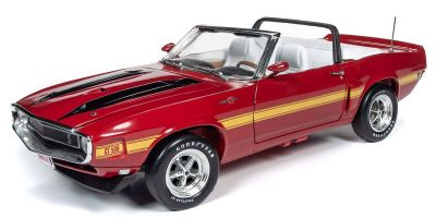 AMERICAN MUSCLE 1/18scale 1970 Shelby Mustang Hemmings Muscle Machines Candy apple red  [No.AMM1187]