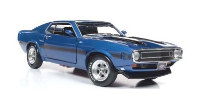 AMERICAN MUSCLE 1/18scale 1969 Shelby Mustang Fastback (50th Anniversary) Acapulco Blue  [No.AMM1188]
