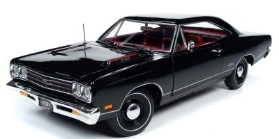 AMERICAN MUSCLE 1/18scale 1969 Plymouth GTX Hardtop MCACN X9 Black Velvet  [No.AMM1204]