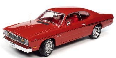 AMERICAN MUSCLE 1/18scale 1970 Plymouth Duster (Hemmings Classic) FE5 Rally Red  [No.AMM1205]