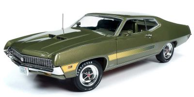 AMERICAN MUSCLE 1/18scale 1970 Ford Torino GT (Class of 1970) Medium Ivy Polly Green  [No.AMM1211]