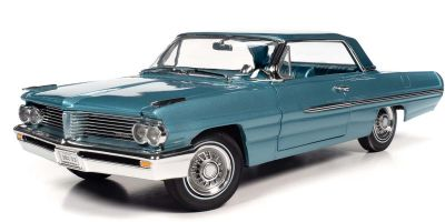 AMERICAN MUSCLE 1/18scale 1962 Pontiac Royal Bobcat Catalina (Aquamarine Blue)  [No.AMM1212]
