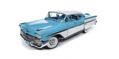 AMERICAN MUSCLE 1/18scale 1958 Chevy Bel Air Impala (Cashmere Blue)  [No.AMM1216]