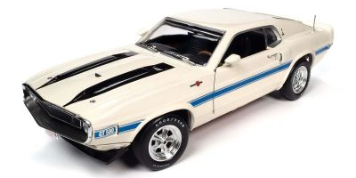 AMERICAN MUSCLE 1/18scale 1970 Shelby GT-500 Wimbledon White  [No.AMM1229]