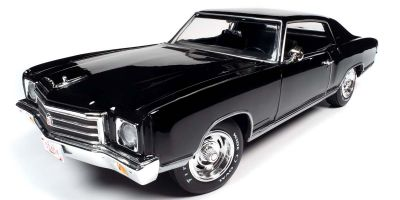 AMERICAN MUSCLE 1/18scale 1970 Chevy Monte Carlo SS 454 (50th Anniversary) Tuxedo Black  [No.AMM1237]