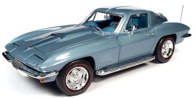 AMERICAN MUSCLE 1/18scale 1967 Chevy Corvette Elkhart Blue  [No.AMM1241]