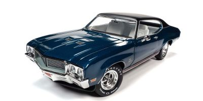 AMERICAN MUSCLE 1/18scale 1970 Buick Stage 1 Hemmings Muscle Machine Diplomat Blue  [No.AMM1242]