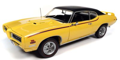 AMERICAN MUSCLE 1/18scale 1969 Pontiac GTO Judge Goldenrod Yellow  [No.AMM1252]