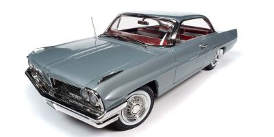 AMERICAN MUSCLE 1/18scale 1961 Pontiac Catalina Hardtop (Class of 1961) Richmond Gray  [No.AMM1254]