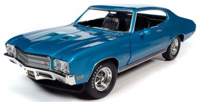 AMERICAN MUSCLE 1/18scale 1971 Buick Grand Sport Stage 1 (Class of 1971) Stratomist Blue  [No.AMM1257]