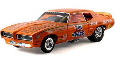 AMERICAN MUSCLE 1/18scale 1969 Pontiac GTO Super Judge Funny Car  [No.AMM970]