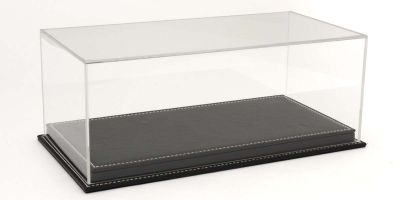 ATLANTIC CASE 1/12scale Mulhouse leather base (thick / black) & acrylic case  [No.ATL10092]