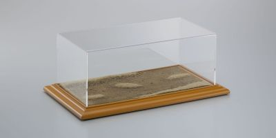 "ATLANTIC CASE 1/18-1/24scale ATLANTIC CASE Diorama Display Bases ""DESERT ROAD""  [No.ATL30102]"