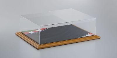 "ATLANTIC CASE 1/18-1/24scale Diorama Display Bases ""Race Track"" & Acrylic case  [No.ATL30105]"