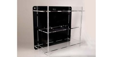 ATLANTIC CASE Assembled multi-case 1 / 24-1 / 43 scale (2 shelves)  [No.ATL40051]