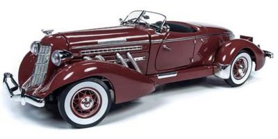 AMERICAN MUSCLE 1/18scale 1935 Auburn Speedster (Plum Burgundy)  [No.AW262]