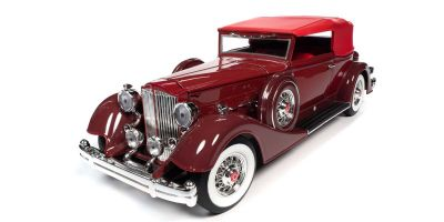 AUTO WORLD 1/18scale 1934 Packard V12 Victoria Soft Top Red  [No.AW271]