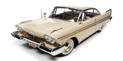 AUTO WORLD 1/18scale 1957 Plymouth Fury Beige  [No.AW272]