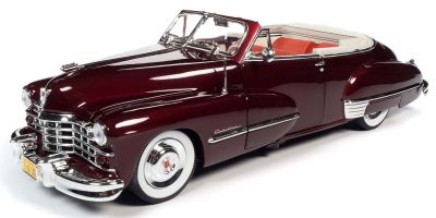 AUTO WORLD 1/18scale 1947 Cadillac 62 Cabriolet Burbundy  [No.AW273]