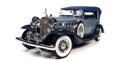 AUTO WORLD 1/18scale 1932 Cadillac V16 Sports Phaeton Light Blue/Dark Blue  [No.AW278]