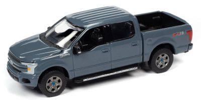AUTO WORLD 1/64scale 2018 Ford F-150 Abyss Gray  [No.AW64262A1GR]